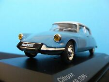 Citroen DS 19 1966 in Blue with White  a 1:43RD Scale Whitebox Collectors Model
