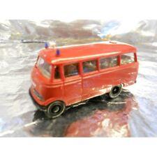 ** Brekina 36130 Mercedes Benz 319 Bus Red  Feuerwehr 1:87 HO Scale