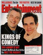 Entertainment Weekly 563 Oct 13 2000 Robert De Niro Ben Stiller Meet The Parents