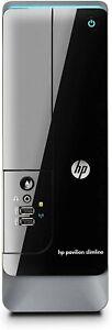 HP Slimline S5-1014 Desktop PC Intel Dual Core 3.2GHz 4GB 750GB DVDRW