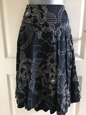 Monsoon Black Skirt Size 14
