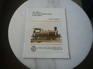 VICTORIAN RAILWAYS - THE OLDEST CONTINUOUS RAILWAY UNION IN THE WORLD