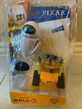 Disney Pixar *WALL-E & EVE* Poseable Figure 2 Pack from Mattel (IN HANDS!!!)