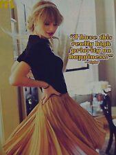 Taylor Swift POSTER a4 (circa 20 x 27 cm) - fan raccolta skinning estero USA