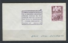 ARGENTINA;  1960 early Expo COVER used to Germany Special cancel