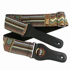 Hippie Bohemian Electric Guitar Strap Boho Gypsy Ethnic Band Acoustic Bass Belt