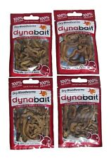 Dynabait freezed dry blood worms - 4 packs