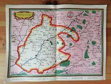 """Carte Vieux Pays de France N°52  """"LE VERDUNOIS"""" Meuse"""