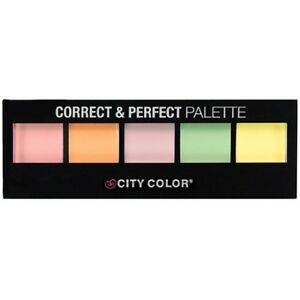 CITY COLOR Correct & Perfect Palette - 5 Shades x 0.08g each