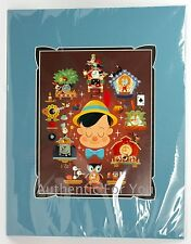 NEW Disney Art WonderGround Pinoccchio Brave Truthful Unselfish Print Chris Lee