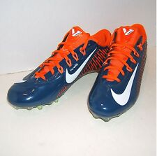 Nike VAPOR CARBON 2.0 ELITE TD Football Cleats BEARS/BRONCOS 657441 406 MEN 11.5