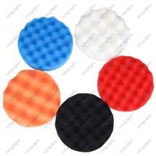 5 pcs 6 inch Car Polisher Soft Wave Foam Waffle Pad Buffing Sponge Pads