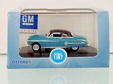 Busch 201124202 - H0 1:87 - Oxford: Oldsmobile Rocket Blue/Black -