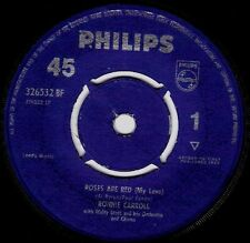 "Ronnie Carroll ‎– Roses Are Red (My Love) 7"" NM"