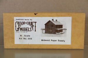 GLOOR CRAFT MODELS 205 N GAUGE MIDWEST PAPER COMPANY WOOD MODEL KIT nz