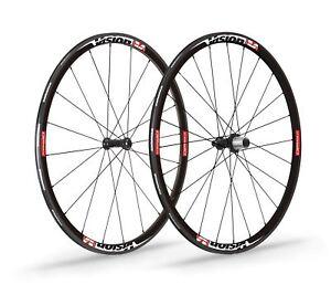Vision Team 30 Wheelset For Road Race Bike SH11, Grey Decal, V15