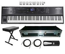 Kurzweil Forte 88 Key Stage Piano Keyboard BRAND NEW FREE HARD CASE, BENCH ETC