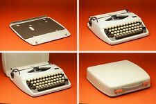 1971 Adler Tippa Manual Portable Typewriter in Case Made in Holland Vintage VGC