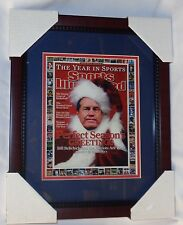 New England Patriots Bill Belichick SI Cover Xmas Santa Framed Picture 13x16