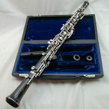 Recent Fox 400 Full Conservatory Professional Oboe, Beautiful Left F +3rd Octave