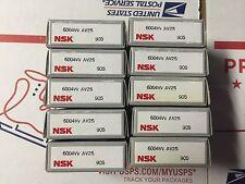 NSK BEARINGS - PART# 6004VV - LOT OF  10 PCS.  NEW