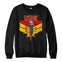 Captain Marvel Jumper, Infinity War Captain Marvel Adult & Kids Jumper Top