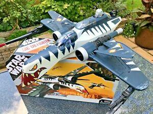 STAR WARS 'TIGER SHARK' ARC-170 FIGHTER - HASBRO (WITH BOX)