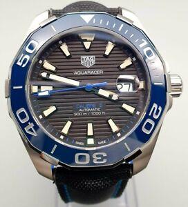 TAG Heuer WAY201C.FC6395 Aquaracer Calibre 5 Automatic 300m Mens Watch