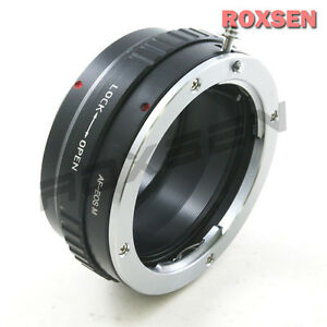 Sony Alpha Minolta AF lens To Canon EOS M EF-M mount Mirrorless Adapter M3 M10