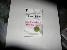 The Claiming of Sleeping Beauty by Anne Rice (Paperback) SIGNED LATER PRINTING
