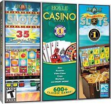 Hoyle Swashbucklin' Slots Casino Games 35 PC Games Window 10 8 7 XP Computer NEW