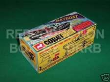 CORGI #107 Batboat & trailer-Reproduction Box par drrb