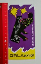 Aufkleber/Sticker: Drawbar Keyboards - ORLA KX 400 (11051636)