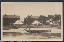 India Postcard-Foresters Barracks, Boxing Ring, Officers Grounds, Mustapha A3695