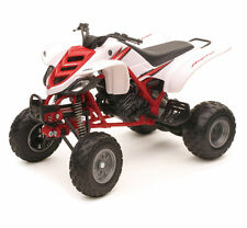 Yamaha Raptor YFM 660R 1:12 ATV Quad White Red Toy Model by New Ray 42923