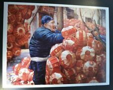 """""""Raise the Red Lantern"""" by Zhang Xing.  Signed numbered limited edition print."""