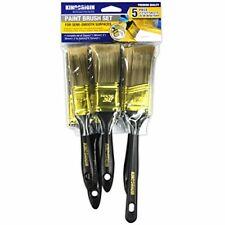 New listing KingOrigin 10049T Premium Paint Brush Set 5-piece,paint brush,paint brushes,pain