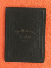 Konfirmanden Buchlein Catholic Confirmation Book in German Illustrated Early1900