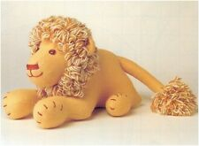 Lion Soft Toy Vintage Sewing Pattern S10011 (Not finished item)