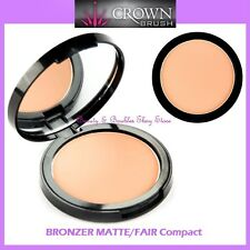 NEW Crown Brush BRONZER MATTE/FAIR Compact FREE SHIPPING Face Powder Highlighter