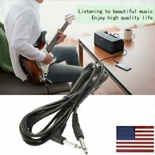 Quality 10ft 3m Electric Patch Guitar Amplifier AMP Instrument Cable Cord HO