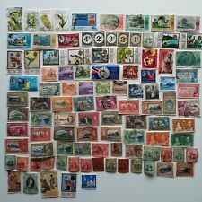 More details for 100 different trinidad and tobago stamp collection