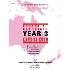 Essential Exercises Year 3 Maths (Australian Curriculum)
