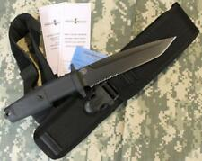 NEW Extrema Ratio COL MOSCHIN BLACK Modified Tanto Fixed Blade Knife BöHLER N690