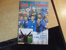 UEFA Champions League 2012/13 Linfield v B36 Torshavn Faroe Islands