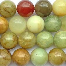 Soocho Jade Serpentine 14mm Ball Semi Precious Stone Beads Q14 Beads per Pkg