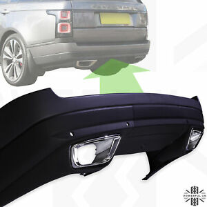 Rear Bumper+twin Exhausts SVO style for Range Rover L405 Vogue SVA Autobiography