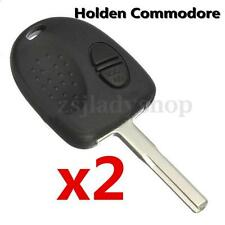 2x Car Remote Key Fob Shell Case W/ Blade For Holden Commodore VS VT VX VY VZ WH