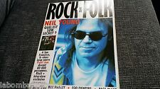 MAGAZINE ROCK & FOLK 336 - NEIL YOUNG - PEARL JAM - BOB MARLEY - FOO FIGHTERS