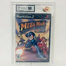 Mega Man Anniversary Collection Graded Sealed UKG/VGA 90 Ps2 Playstation